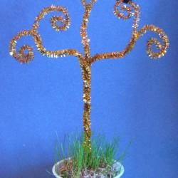 Gustav Klimt 3D Trees
