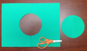 Positive and negative shape circles