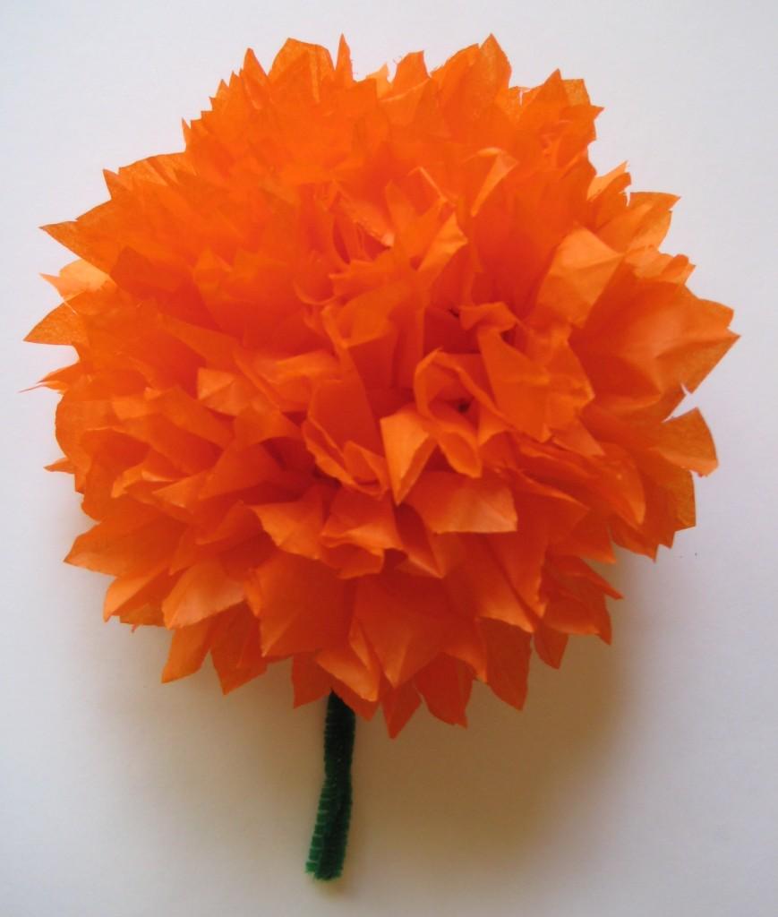 Folded Paper Marigold