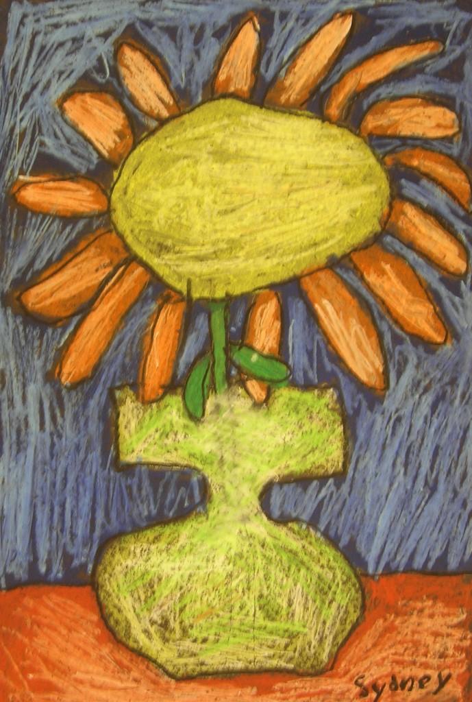 Oil Pastel Still Life Inspired By Vincent Van Gogh Teachkidsart