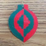 Japanese Notan-Inspired Ornaments