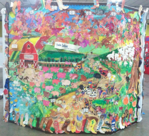 TLCS County Fair Mural 2013