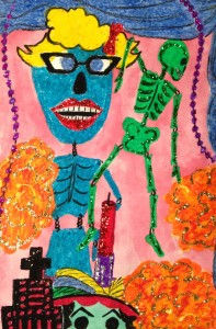 Day of the Dead Ofrenda Painting