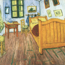"""Vincent's Bedroom in Arles"", October 1888"