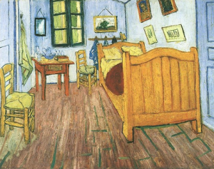 """Vincent's Bedroom in Arles"", October 1888"