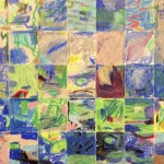 Masterpiece Mosaic Collage on Canvas auction project