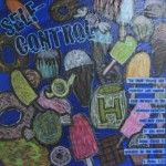 """""""Self-Control"""" auction project collage on Canvas"""