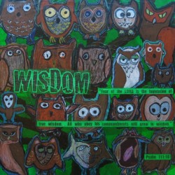 """Wisdom"" auction project collage on Canvas"