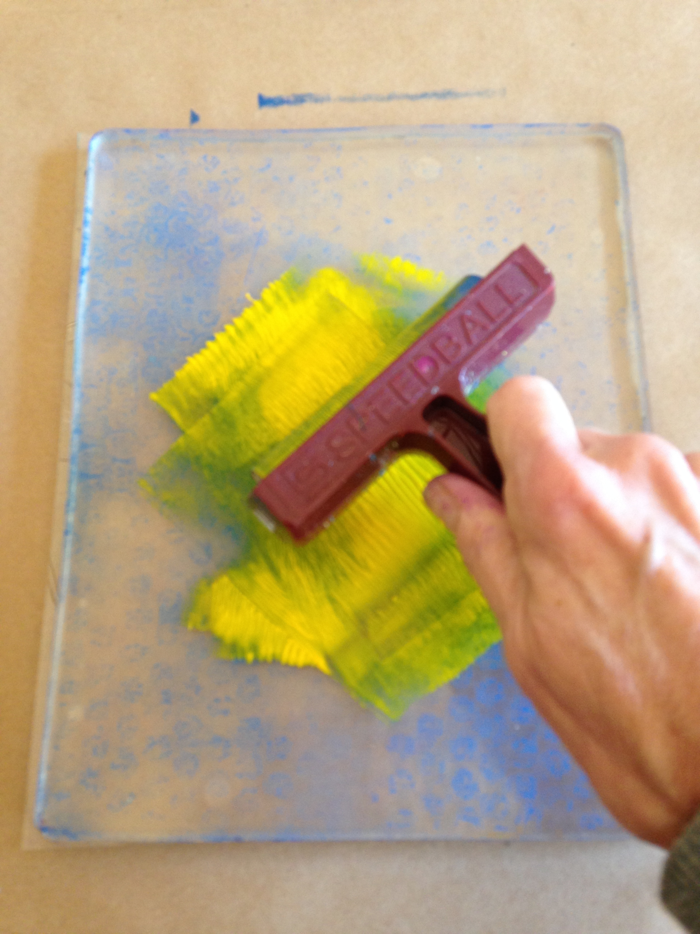 How to make a Gelli print