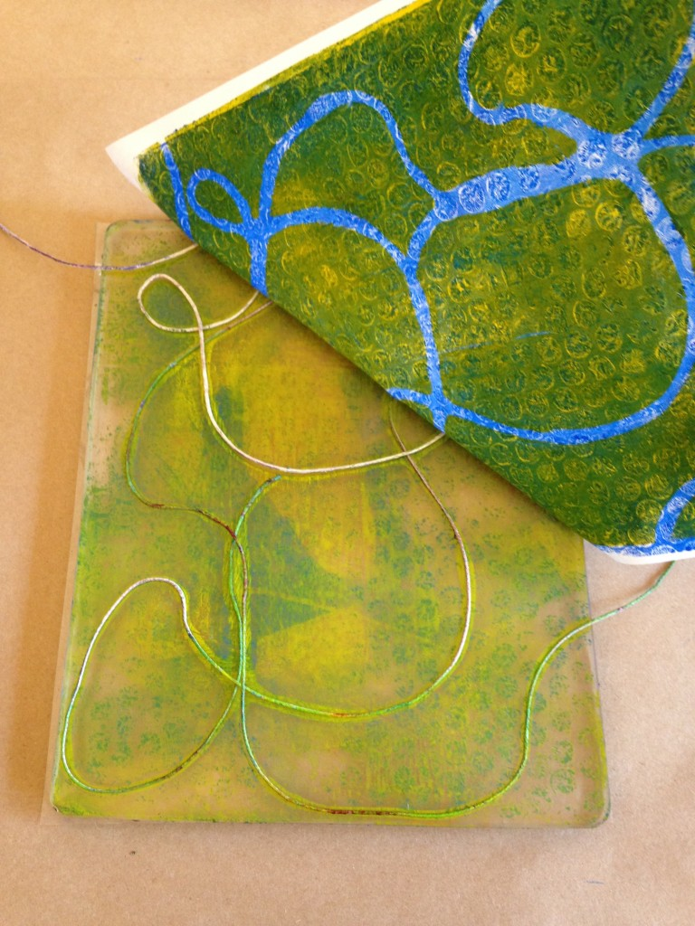 Types Of Watch Bands >> How to Make a Gelli Print • TeachKidsArt