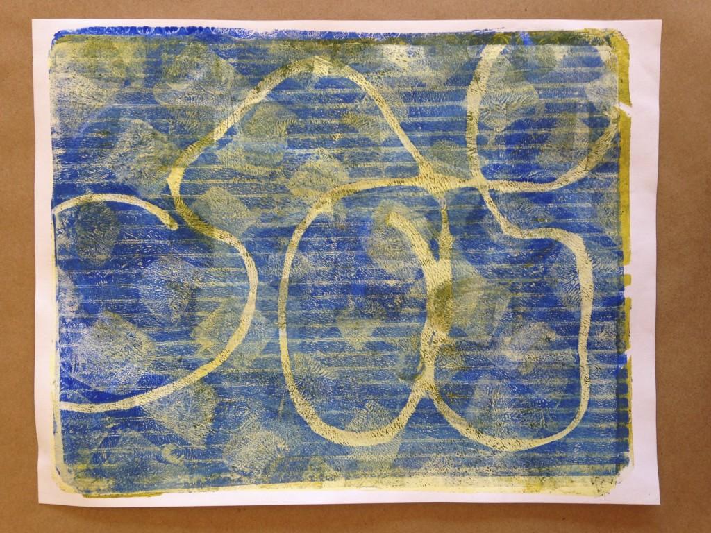How To Make A Gelli Print Teachkidsart