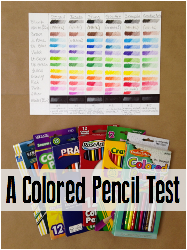 A Colored Pencil Test
