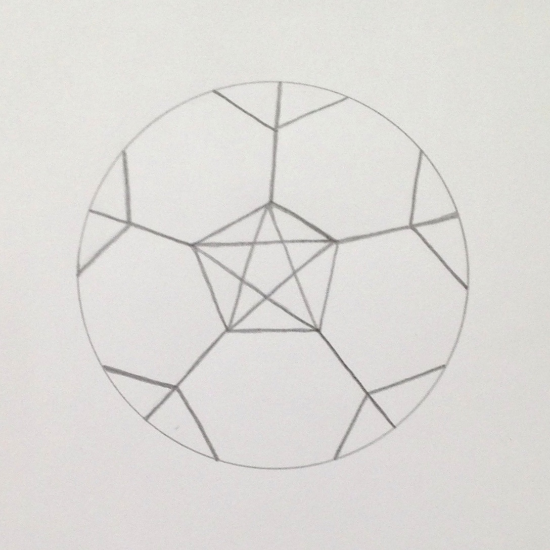 draw a simple soccer ball step 7 teachkidsart