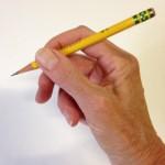 How to Teach the Tripod Grip- step 5