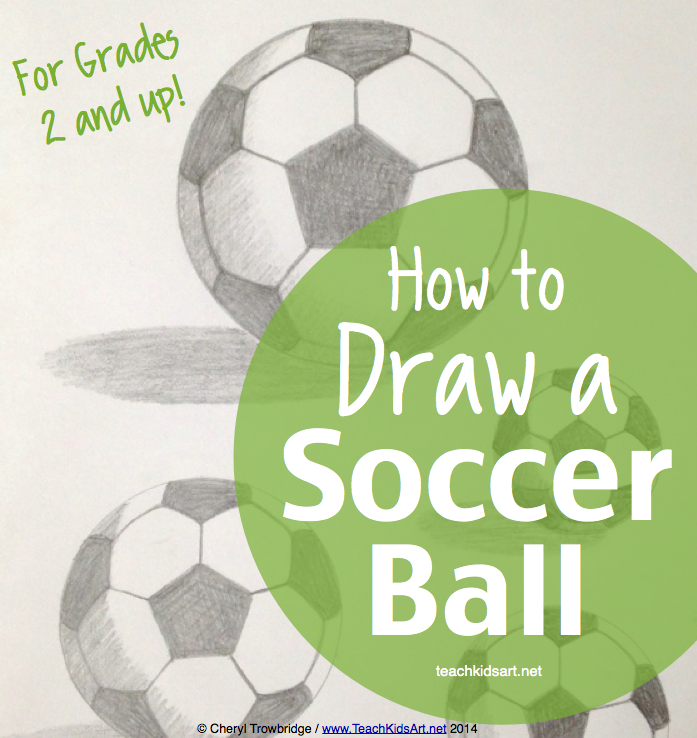 """Learn math concepts while developing your drawing skills with """"How to Draw a Soccer Ball for Grades 2 and Up"""" on TpT"""