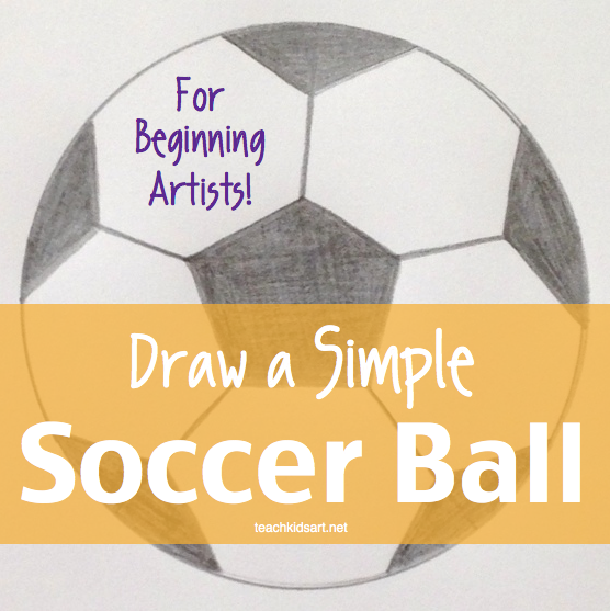 quotdraw a simple soccer ball for beginning artistsquot on tpt