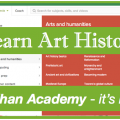 Learn Art History (and lots more!) for FREE with Khan Academy