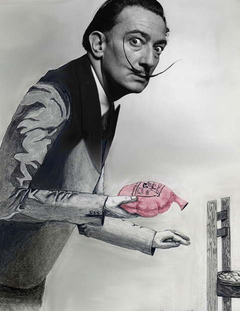 """Dali Being Devious"" by Hannah Rothstein"