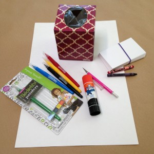 Flash Card Flipper Supplies
