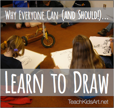 Why Everyone Can (and Should!)… Learn to Draw