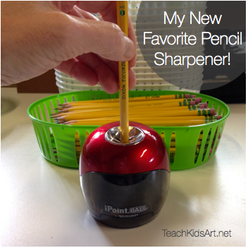 My New Favorite Pencil Sharpener - the iPoint Ball by Westcott