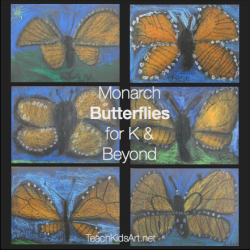 Monarch Butterflies for K & Beyond