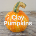 Clay Pumpkins tutorial
