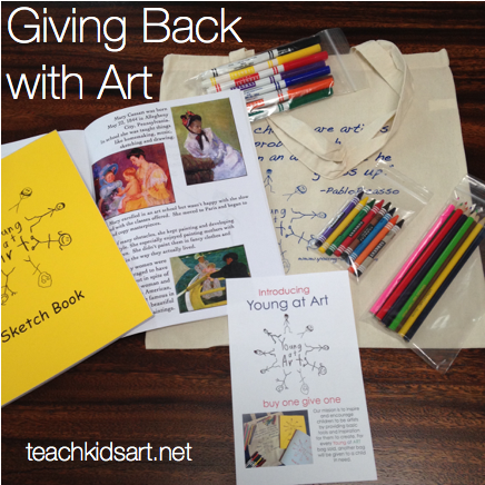 Giving Back with Art
