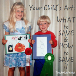 Your Child's Art: What to Save & How to Save It