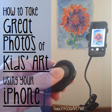 How to Take Great Photos of Kids' Art Using Your iPhone
