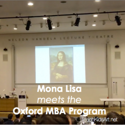 Mona Lisa meets the Oxford MBA Program