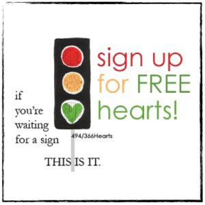 the 366 Hearts blog