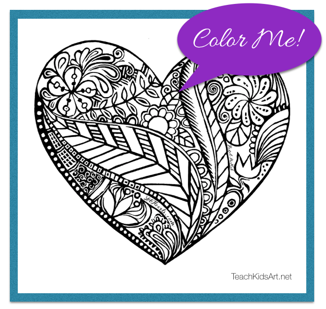 A Heart to Color by Hazel McNab