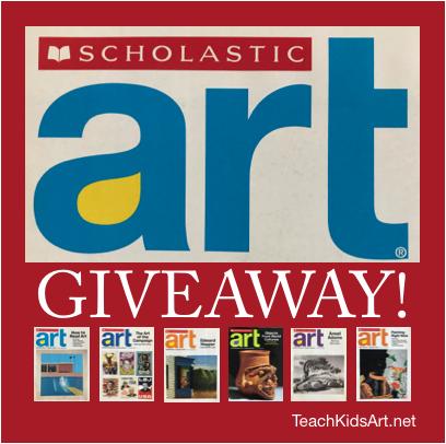 Scholastic Art Giveaway