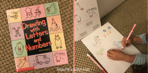 Drawing with Letters and Numbers by Syd Hoff