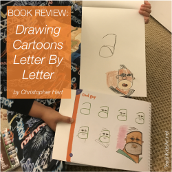 BOOK REVIEW: Drawing Cartoons Letter By Letter
