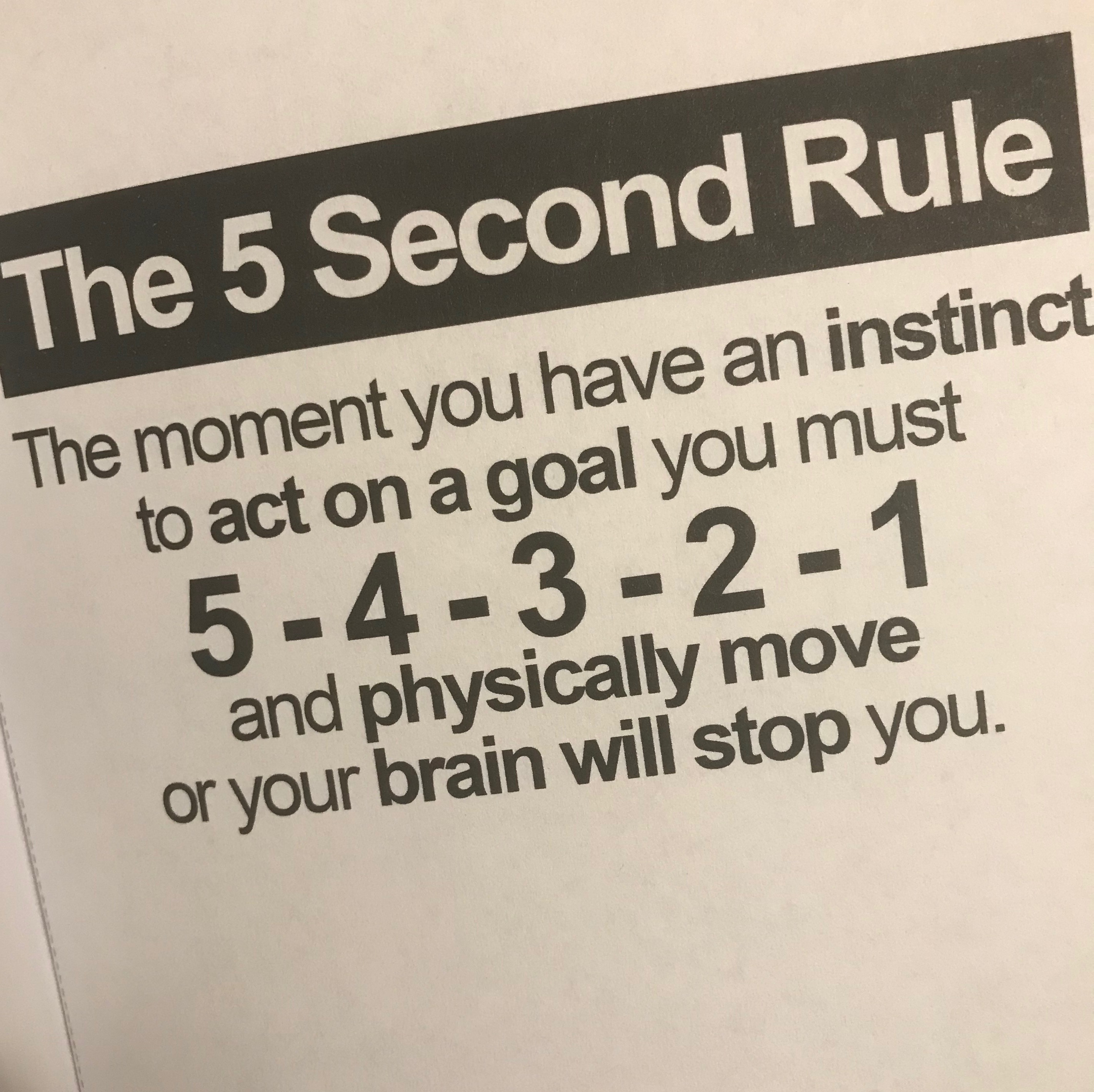 five second rule game instructions
