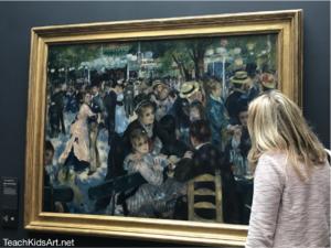 "Renoir's ""Bal du moulin de la Galette"" (1876) draws viewers in at the Musee d'Orsay"