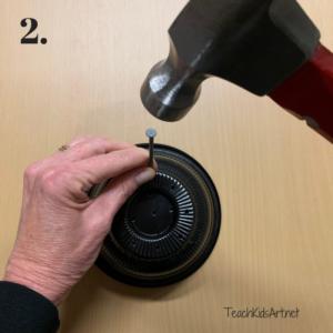 Make an Upcycled Planter step 2