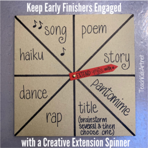 Creative Extension Spinner